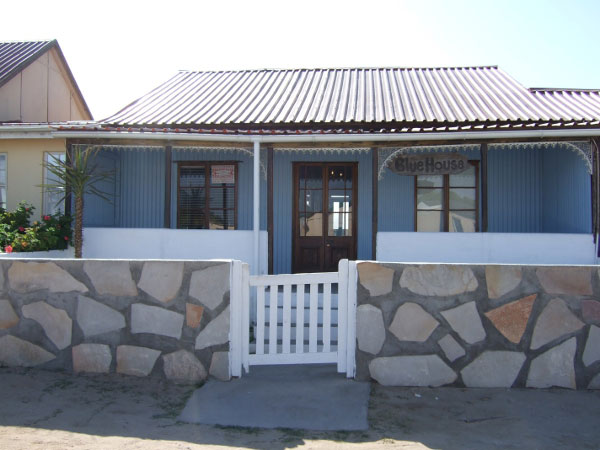 the blue house cottage